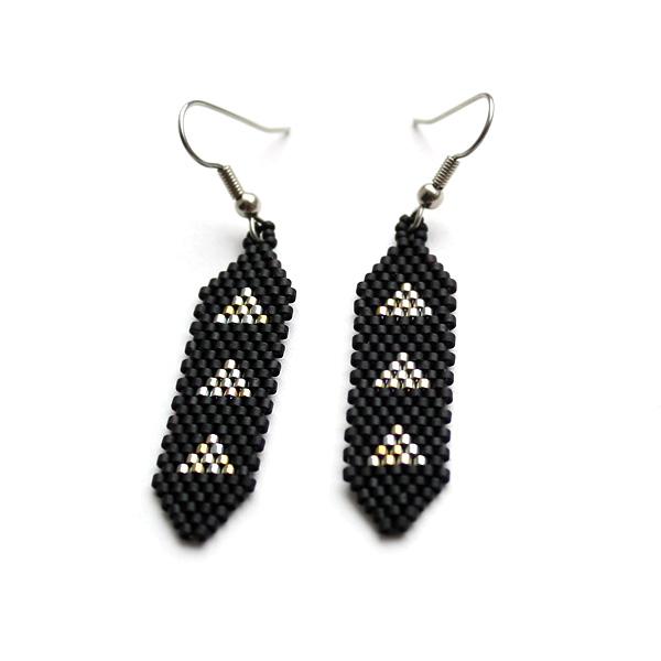 Купить малнькие сережки из бисера в интернет-магазине anabel27.ru