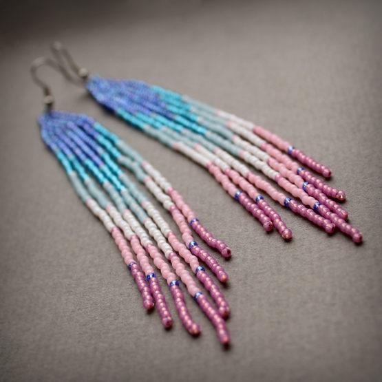 Куплю красивые сережки для девушки интернет-магазин авторских украшений из бисера
