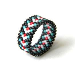 дизайнерское кольцо ручной работы купить
