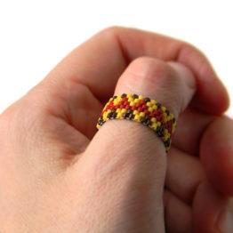 Купить яркое женское кольцо в стиле этно в интернет-магазине Украшения от Anabel