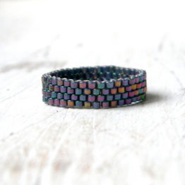 бисерные минималистичные кольца 18 17 16 14размера купить