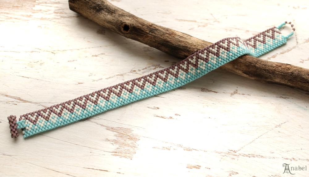 Купить браслет для девочки подростка нежный браслет из бисера