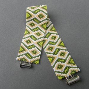 оригинальные браслеты из бисера