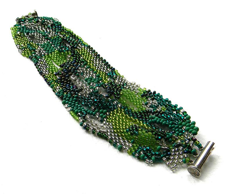 купить зеленый браслет