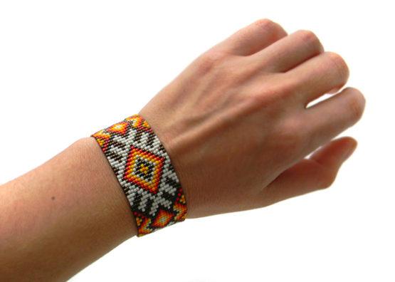 молодежный этнический браслет женский цена купить