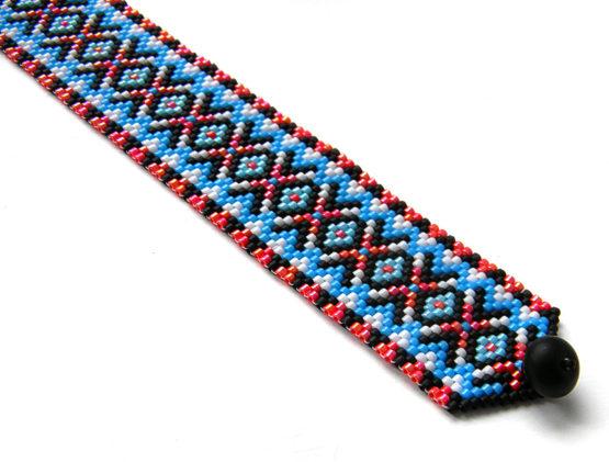 бисерные молодежные браслеты на руку браслеты на запястье купить