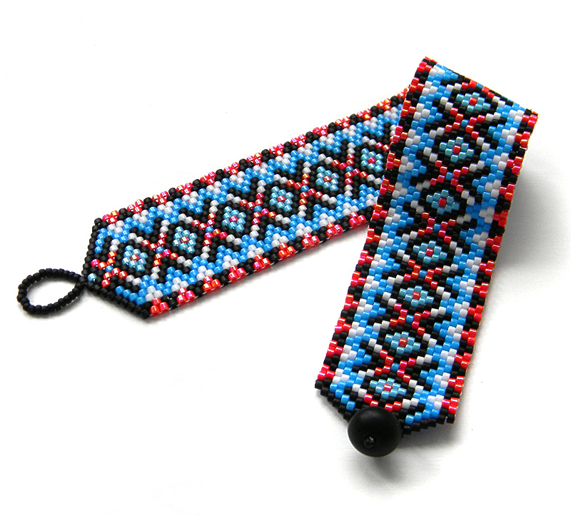 купить летние браслеты молодежные для девушек изделия из бисера цена
