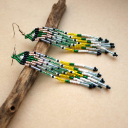 купить сережки для девушки бижутерия ручной работы