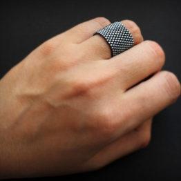 широкое женское кольцо стальногт цвета куплю бижу
