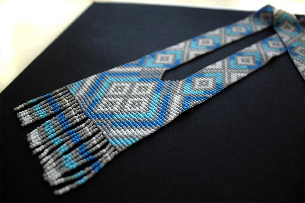 купить Авторский гердан ручной работы из бисера в интернет магазине россия