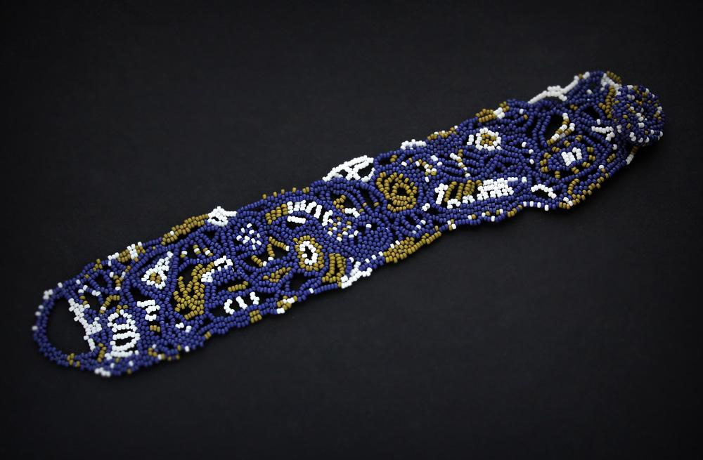 купить авторскую бижутерия в стиле бохо фриформ браслет