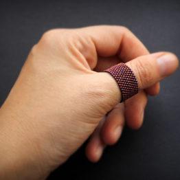Стильное женское кольцо на большой палец
