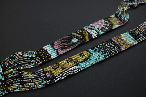 купить необычный гердан из бисера ручной работы интернет магазин цена