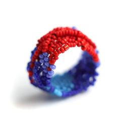 женское эксклюзивное кольцо ручной работы бижутерия