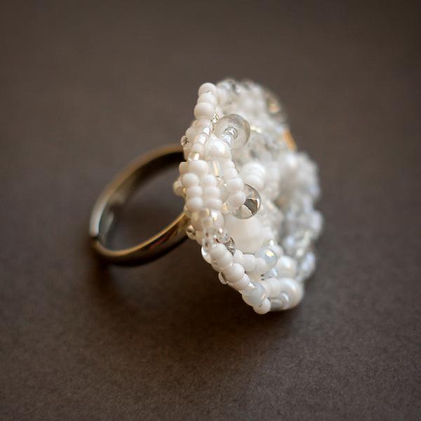 купить женское кольцо бижутерия