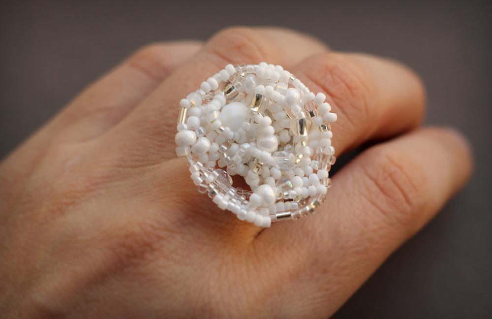 необычные кольца купить
