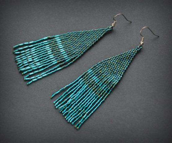 нарядные сережки бижутерия для вечеринки