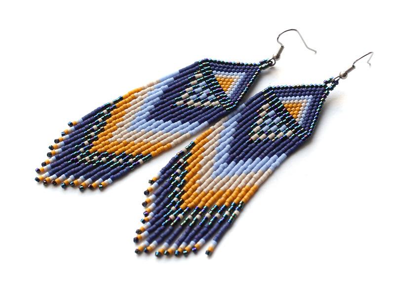 купить серьги в стиле этно