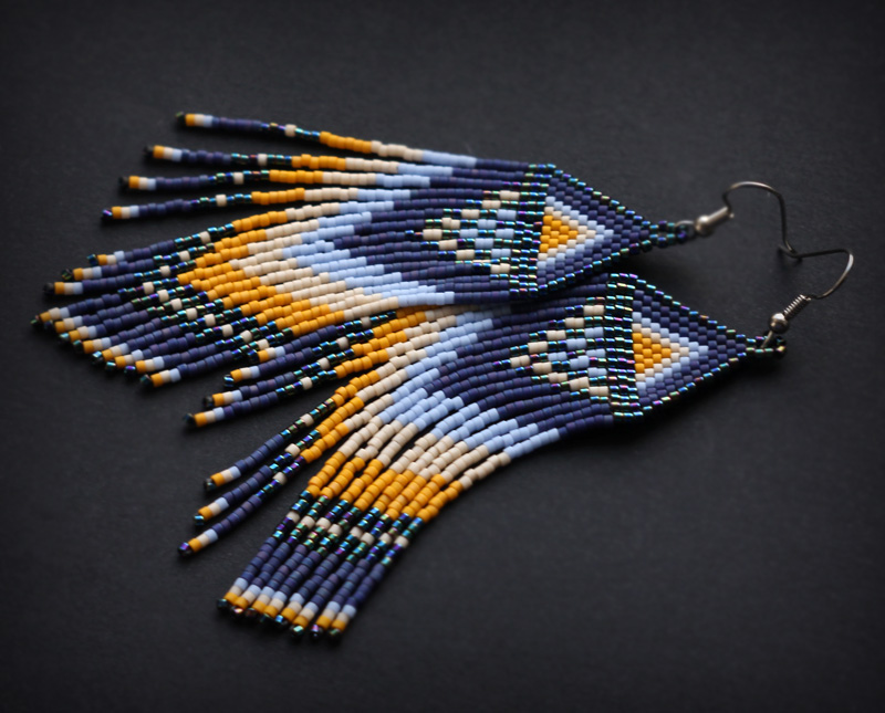 сережки в этно-стиле цена фото