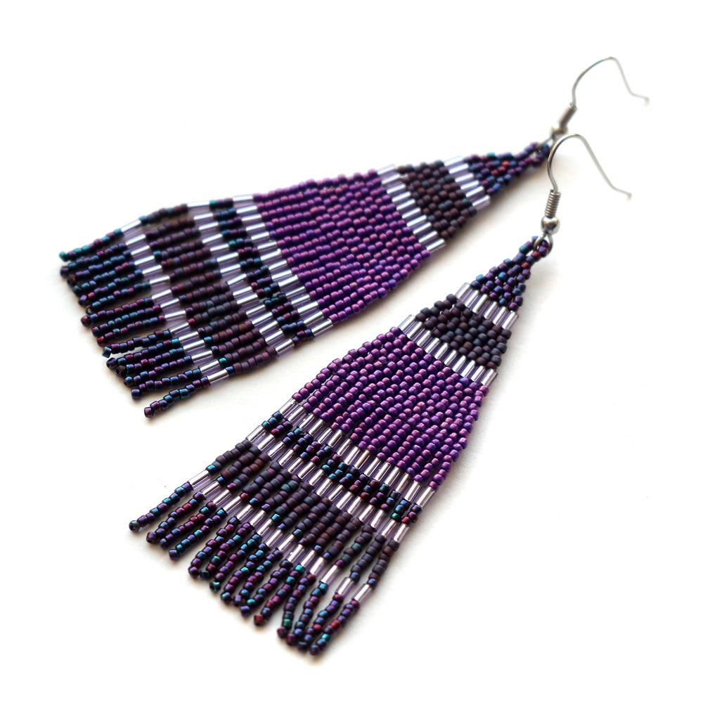 купить подарок молодой женщине на день рождения купить серьги к фиолетовому платью