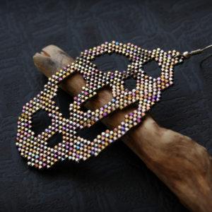 одиночная серьга для женщин массивные украшения купить