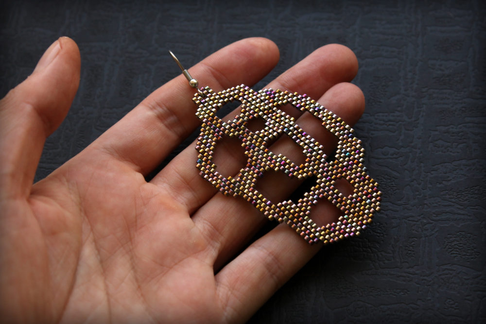 купить одну сережку необычная бижутерия интернет