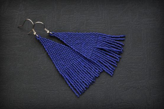 синие серьги большие самые необычные подарки подруге