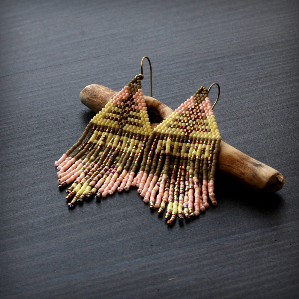 купить большие висячие серьги в стиле этно