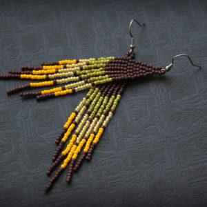 купить сережки ручной работы в стиле бохо