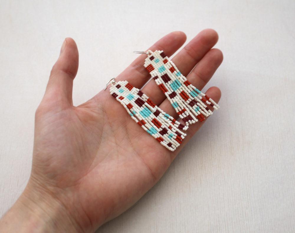 серьги Handmade Красивые модные серьги