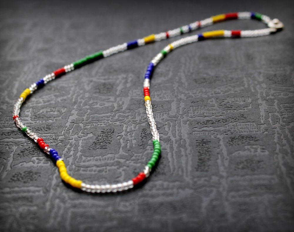 купить ожерелье из бисера