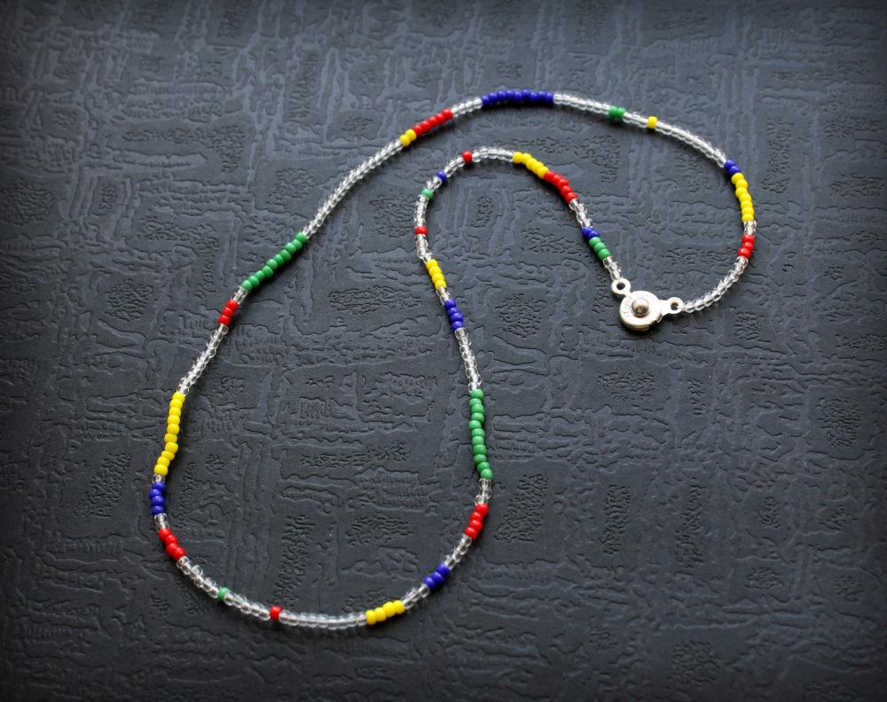 купить чокер из бисера модные ожерелья низки из бисера