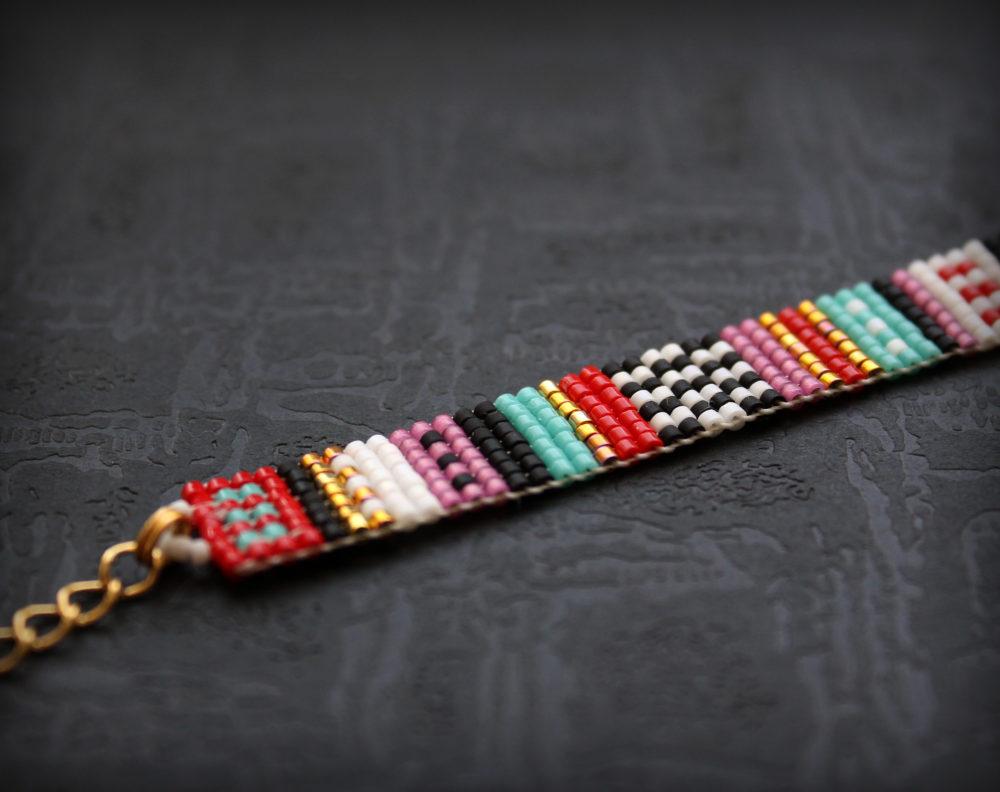 купить браслеты ручной работы из бисера