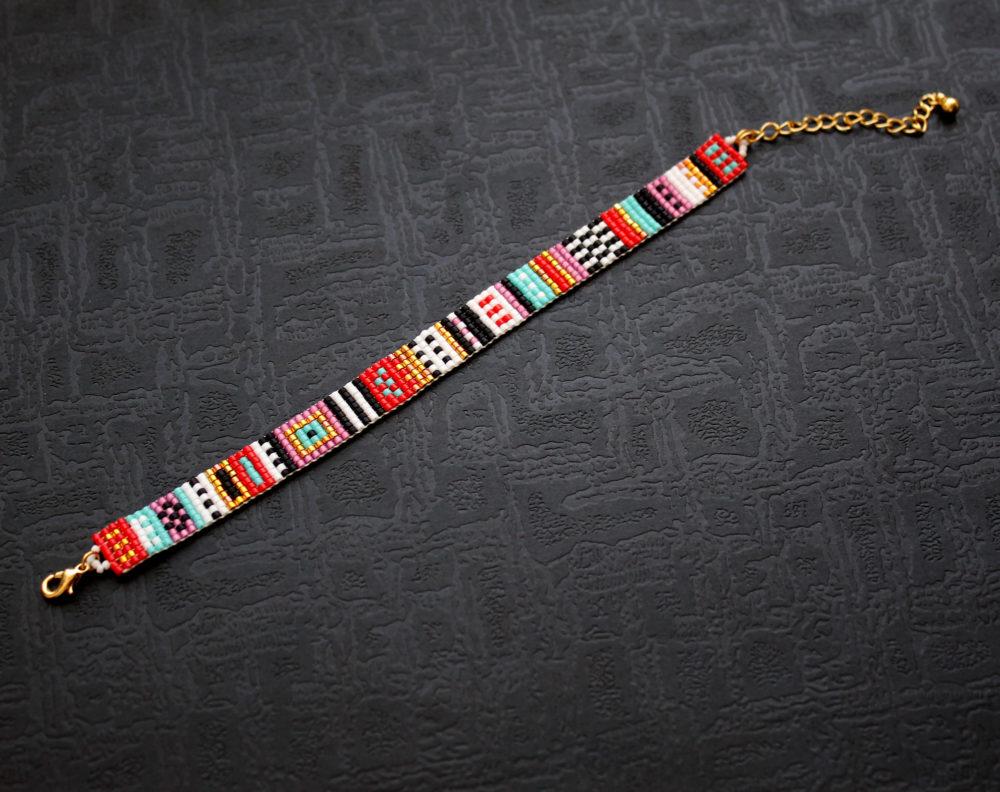 купить браслет из бисера ручной работы