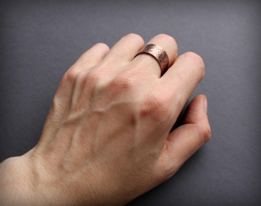 женское медное кольцо купить