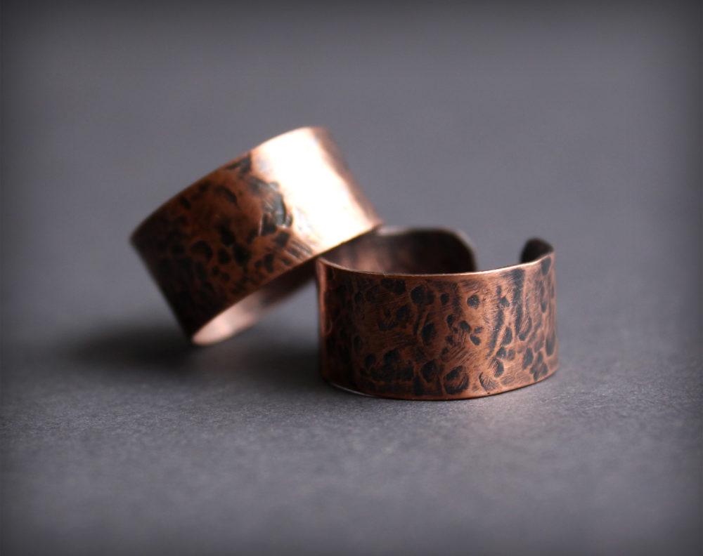 купить медное кольцо ручной работы