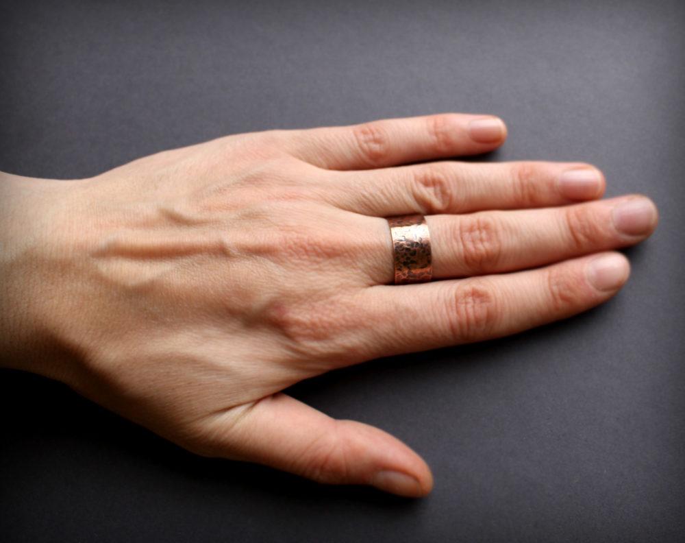 купить кольцо из меди