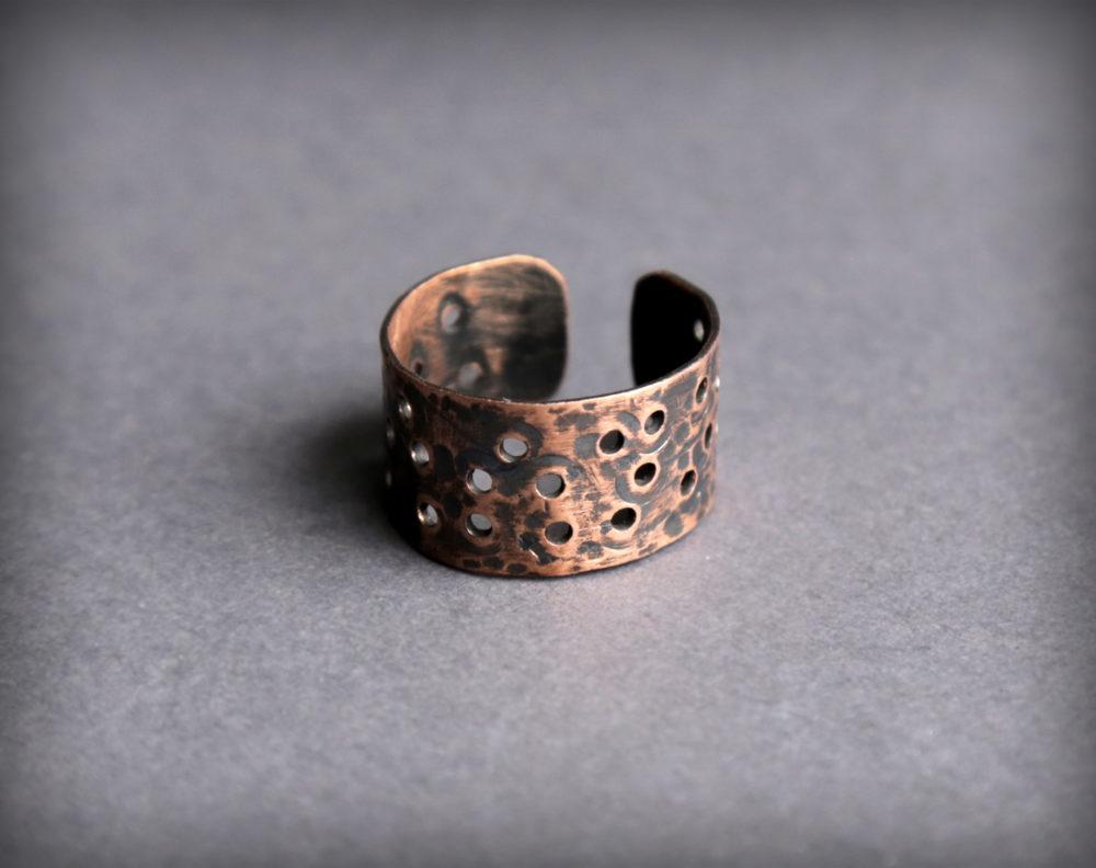 кольцо на большой палец женское