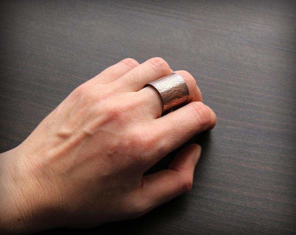 медное кольцо купить