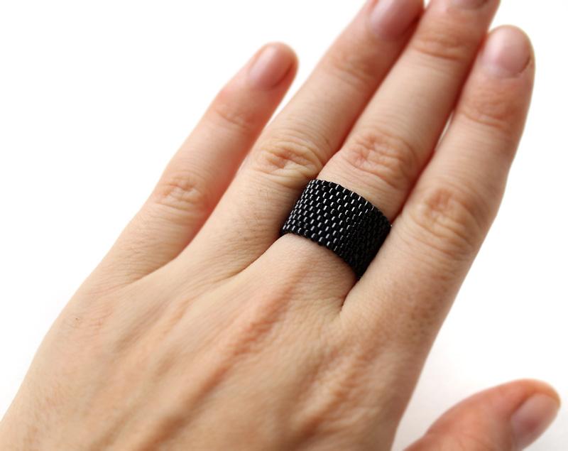 купить кольцо черное
