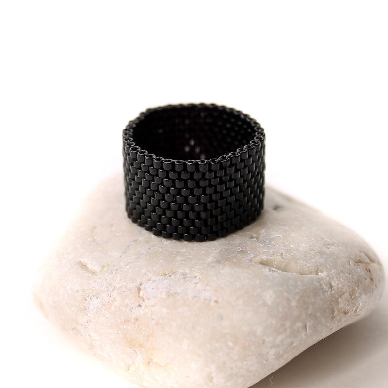 заказать черное кольцо