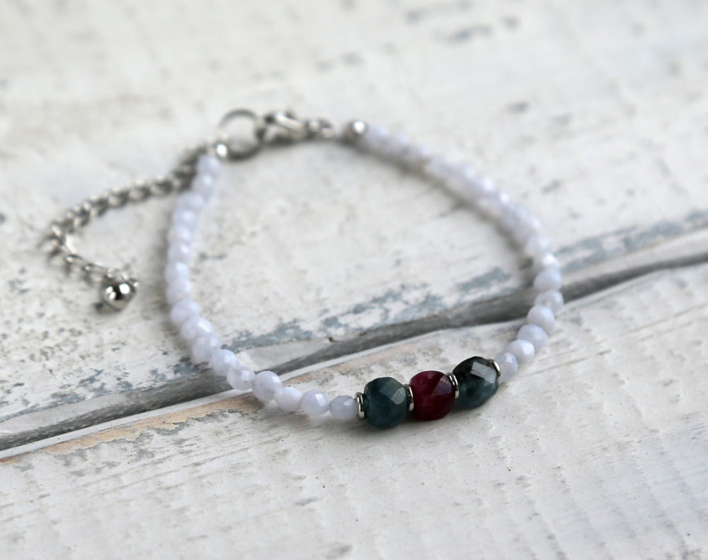 браслеты из настоящих камней