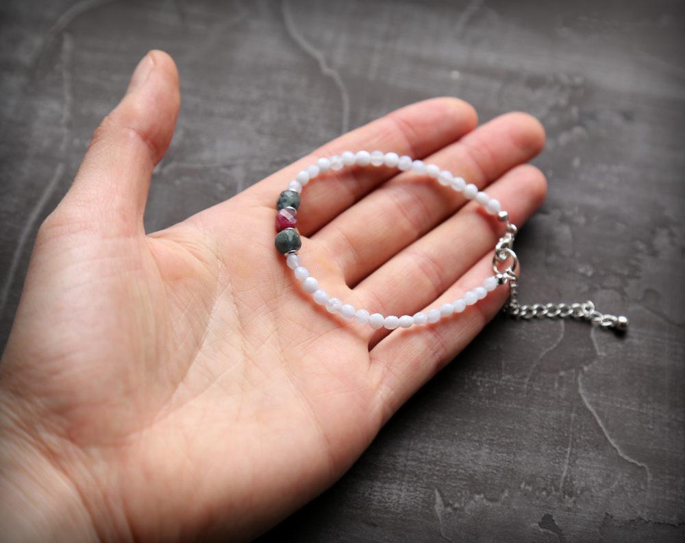 браслет из натуральных камней женский купить