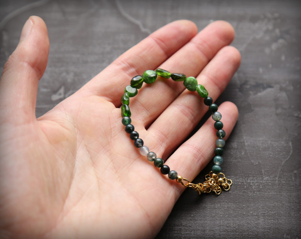 браслет из натуральных камней купить интернет магазин