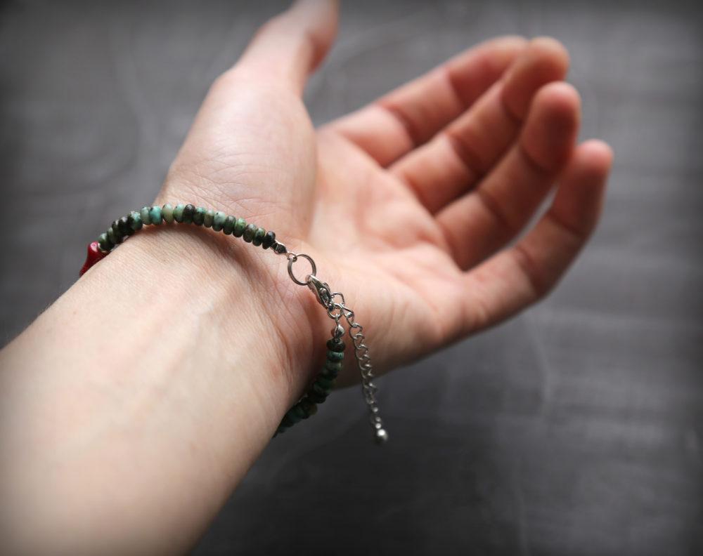 браслеты с природными камнями
