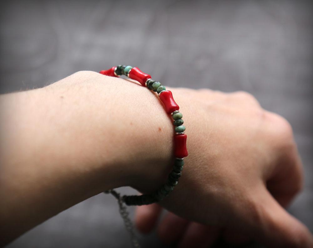 красивые браслеты с камнями