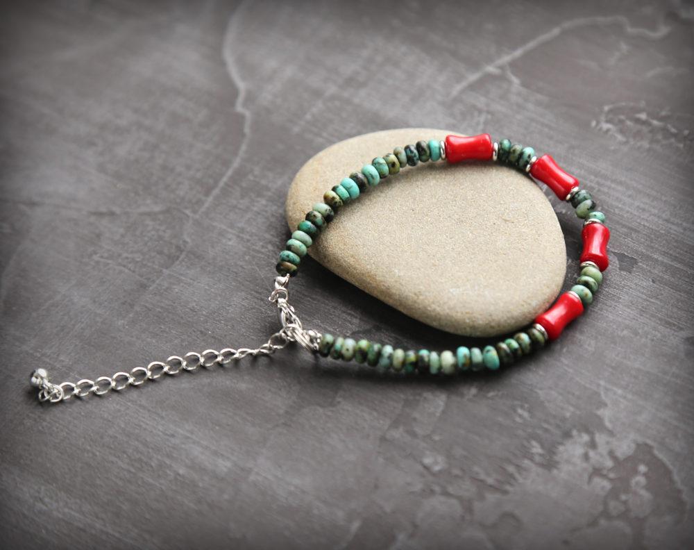 авторские браслеты из натуральных камней ручной работы